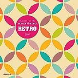 Planer für 2 RETRO 2016 - Planer for 2 RETRO - Broschürenkalender (30 x 60 geöffnet) Küchenkalender - Wandplaner