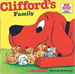 Clifford's Family (Clifford 8x8): Norman Bridwell: 9780545215855