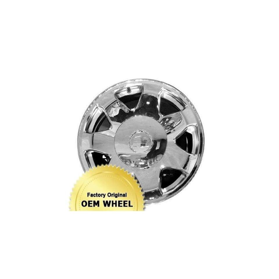 CADILLAC ESCALADE 17X7.5 7 SPOKE Factory Oem Wheel Rim  CHROME   Remanufactured