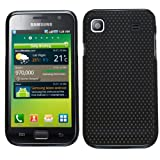 Samrick Mesh Hard Hybrid Armour Shell Protection Case for Samsung i9000 Galaxy S/i9001 Galaxy S Plus - Black