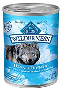 Wilderness Blue Buffalo Denali Wet Dog Food, Dinner (12 Pack), 12.5 oz