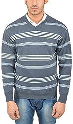 UV&W Men's Cotton Sweater (WSSF07 PEACOAT, S)