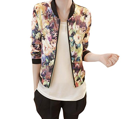 gillberry-women-stand-collar-long-sleeve-zipper-floral-printed-bomber-jacket-l-multi