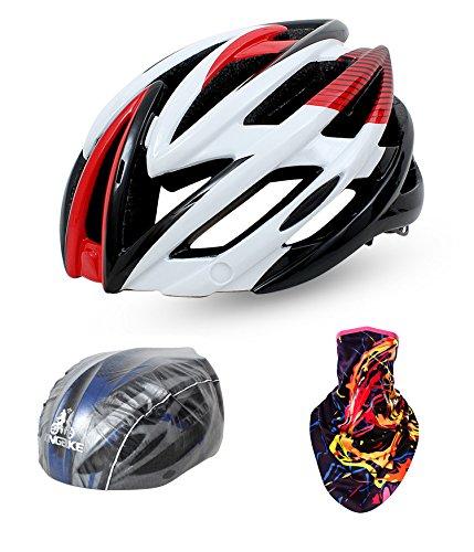 BATFOX-Ciclismo-Casco-moldeado-integralmente-carretera-de-montaa-casco-de-la-bici-de-la-bici-con-Red-Gafas-de-proteccin-de-seguridad-Cascos-de-ciclismo-conduccin-nocturna-Sombrero-Men