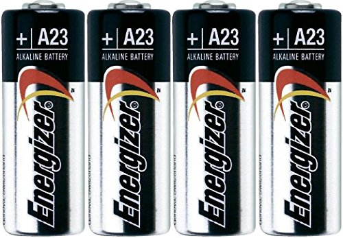 Energizer A23 Battery, 12 Volt - 4 Batteries (Battery 23a 12v compare prices)