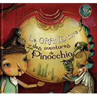Le Grand livre des aventures de Pinocchio (1CD audio)