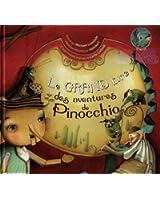 Le Grand livre des aventures de Pinocchio (1CD audio)