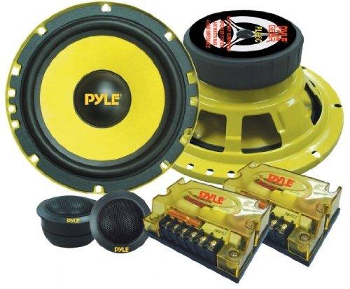 "Pyle Plg6C 6.5"" 800W Component Car Audio Speaker System"