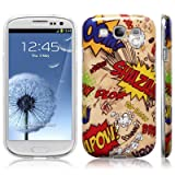 Samsung Galaxy S3 i9300 Comic Capers Image Hard Back Cover / Case / Shell / Shield - Multicoloured By Terrapin (Designed Exclusively By Creative 11)by Terrapin