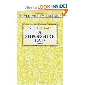 A Shropshire Lad - AE Housman