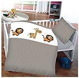 Kinder Baby Bettwäsche Baumwolle 100x135cm Kissenbezug 40x60cm