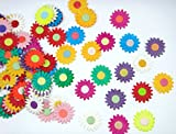 Card making mulberry Paper flowers for Scrapbooking wedding multi color 50 pcs No Mul 007