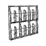 suchergebnis auf f r zeitschriften wandhalterung. Black Bedroom Furniture Sets. Home Design Ideas