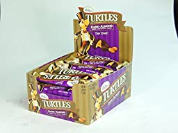 TURTLES Almond Dark Chocolate Caramel 1.76 oz each (24 in a Pack) DARK-ALMOND
