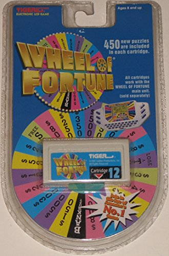 Tiger Electronic Wheel of Fortune LCD Game Cartridge # 12