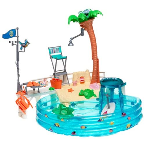 Barbie Cali Girl Pool Playset Toys Games