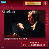 ベートーヴェン:交響曲第4番、交響曲第3番「英雄」 (Beethoven : Symphonie Nr. 3 & Nr. 4 / Carlo Maria Giulini, Wiener Philharmoniker) [2CD]