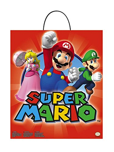 Disguise Nintendo Super Mario Brothers Essential Treat Bag, No Size