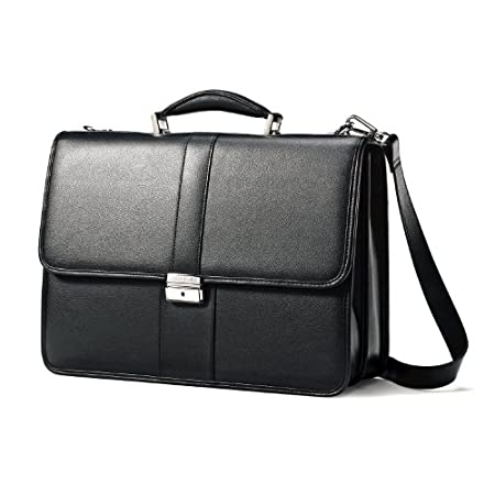 Samsonite Leather Flapover Case