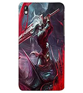HTC DESIRE 816 WARRIOR Back Cover by PRINTSWAG