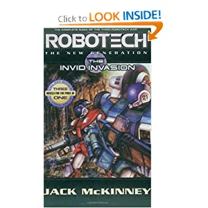 Robotech: The New Generation: The Invid invasion (Robotech: New Generation) by Jack McKinney