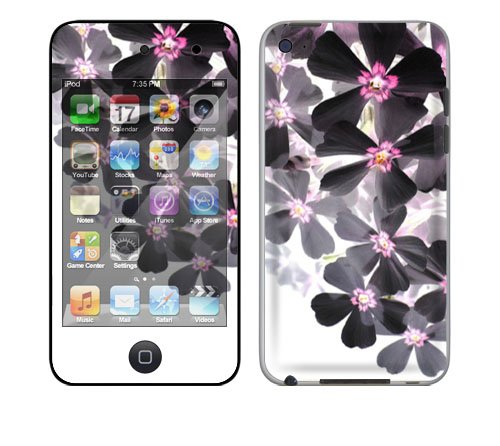 Apple iPod Touch 4th Gen Decal Skin - Asian Flower Paint