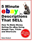 img - for 5 Minute eBay Descriptions That Sell book / textbook / text book
