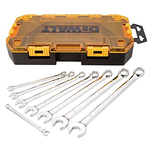 DEWALT DWMT73809  Tool Kit SAE Combination Wrench Set, 8 Piece (Long Box Sae Wrench Set compare prices)