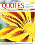 img - for Quotes to Inspire Great Reading Teachers: A Reflective Tool for Advancing Students' Literacy book / textbook / text book