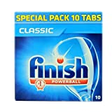 Finish classic dishwasher tablets 10 Pre-soaking action