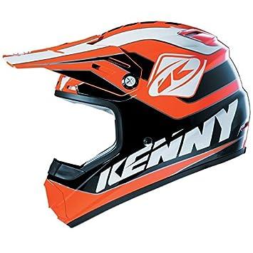 Casque Kenny TRACK KIDS 2015 Noir / Orange Fluo - L