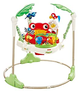 Fisher-price Rainforest Jumperoo Baby Bouncer from Fisher-Price