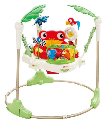 Fisher-Price Rainforest Bouncer Jumperoo bebé.
