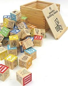 Tradicionales bloques de construcción de madera de House Of Marbles