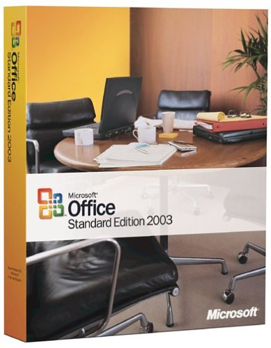 Microsoft Office Standard Edition 2003 [OLD VERSION]
