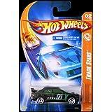 Hot Wheels 2007 Track Stars 1:64 Scale Black & Green Subaru Impreza Die Cast Car #110