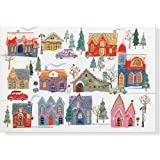 All Around Town Deluxe Boxed Holiday Cards (Christmas Cards, Holiday Cards, Greeting Cards)