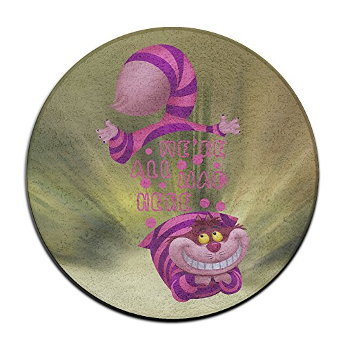 LCNANA Alice In Wonderland Cheshire Cat We Entrance Mat