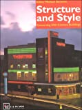 cover of Structure and Style: Conserving 20th Century Buildings