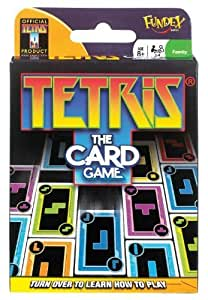 POOF-Slinky 0X8-28296 Ideal Tetris Card Game, 110-Tetrimino and Matrix Cards by Ideal (English Manual)