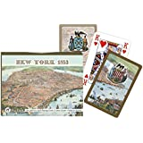 Piatnik New York 1853 Double Deck Playing Cards (Set of 104 Cards)