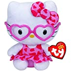 Hello Kitty with Pink Glasses Beanie Baby