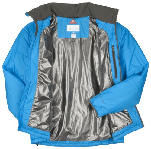 Columbia Shimmer Me Timbers Hoodless Men's Jacket - Compass Blue, Large