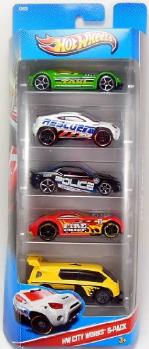 Hot Wheels City Works 5 Pack