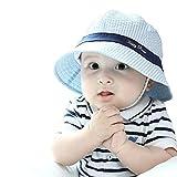 Marca west Unisex Baby Kid Child Toddler Boy Girl Infant Visor Sun Floppy Brim Protection Bucket Cap Hat
