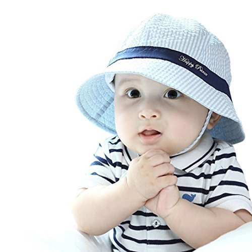 Marca west Unisex Baby Kid Child Toddler Boy Girl Infant Sun Protection Bucket Cap Hat (Baby Boy Hat Sun Protection compare prices)