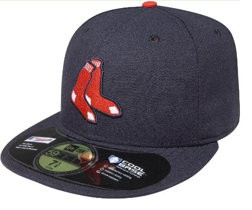 MLB Boston Red Sox Authentic On Field Alternate 59FIFTY Cap , Navy, 7 3/8 at Amazon.com