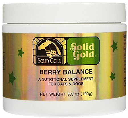 SOLID GOLD 937513 Berry Balance Nutritional Supplement for Pets, 3.5-Ounce Jar