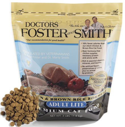 Image of Adult Dry Lite Cat Food 7 lb bag