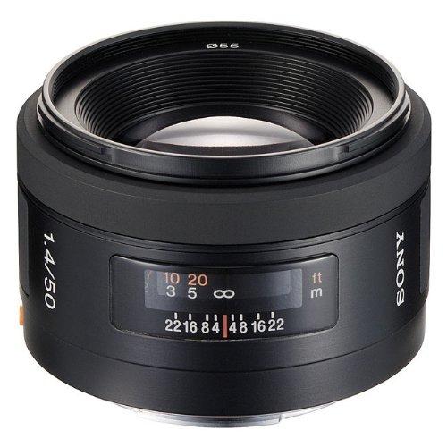 Sony Alpha 50mm F1.4 Lens